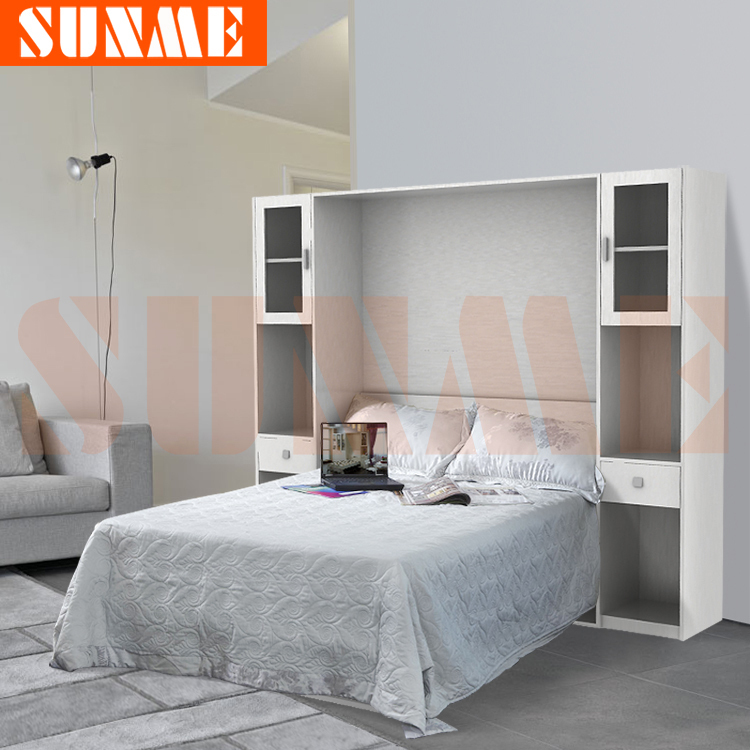 murphy bed folding bed wall bed murphy bed sunme ka5 double sizein beds from furniture on alibaba group