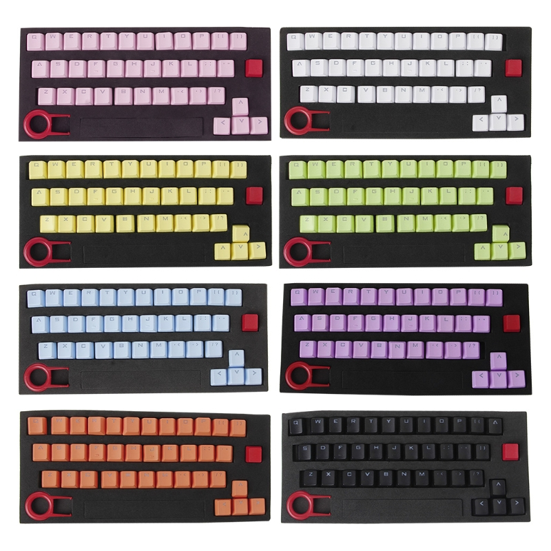 PBT 37 Keys Double Shot Translucidus Backlit Keycaps For Mechanical Keyboard