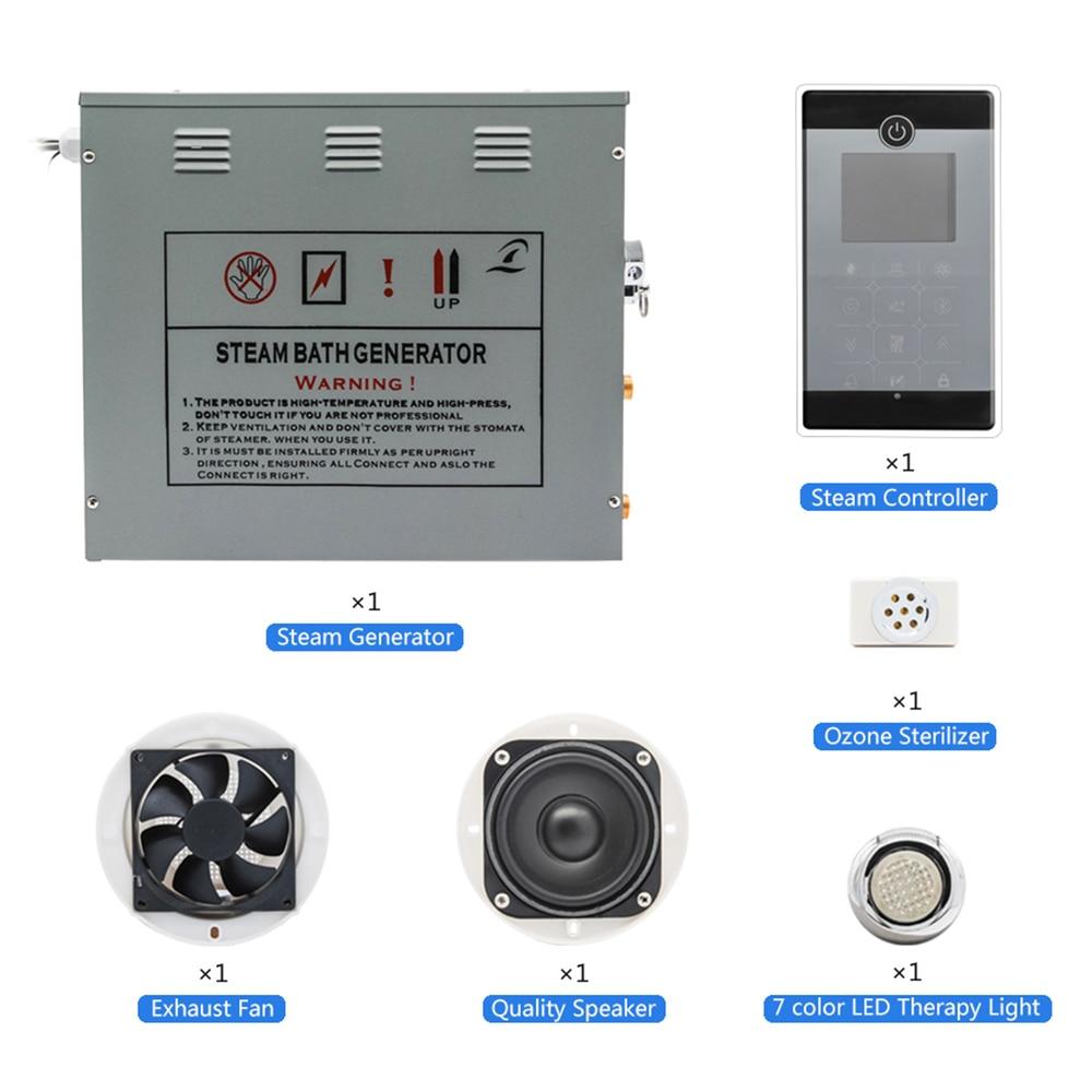 Nieuwe Bluetooth Controller FM radio LED Verlichting 6KW AC240V ...
