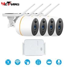 Wetrans Video Surveillance System Wifi Camera Security Outdoor Kit CCTV Wireless 4CH Mini NVR 1080P Audio camara de vigilancia super mini 4ch nvr based on low cost solution with 1080p image recording