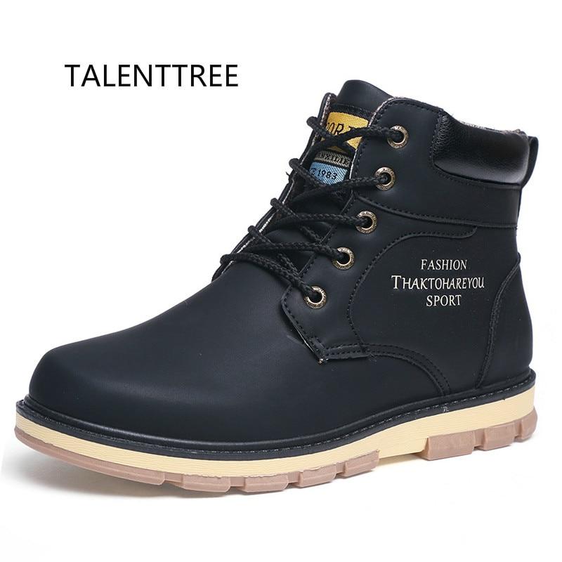 Talenttree новые Для мужчин зимние сапоги Для мужчин плюшевые теплые зимние ботинки мужские ботинки большого размера сапоги для мужчин bota masculina ... ...