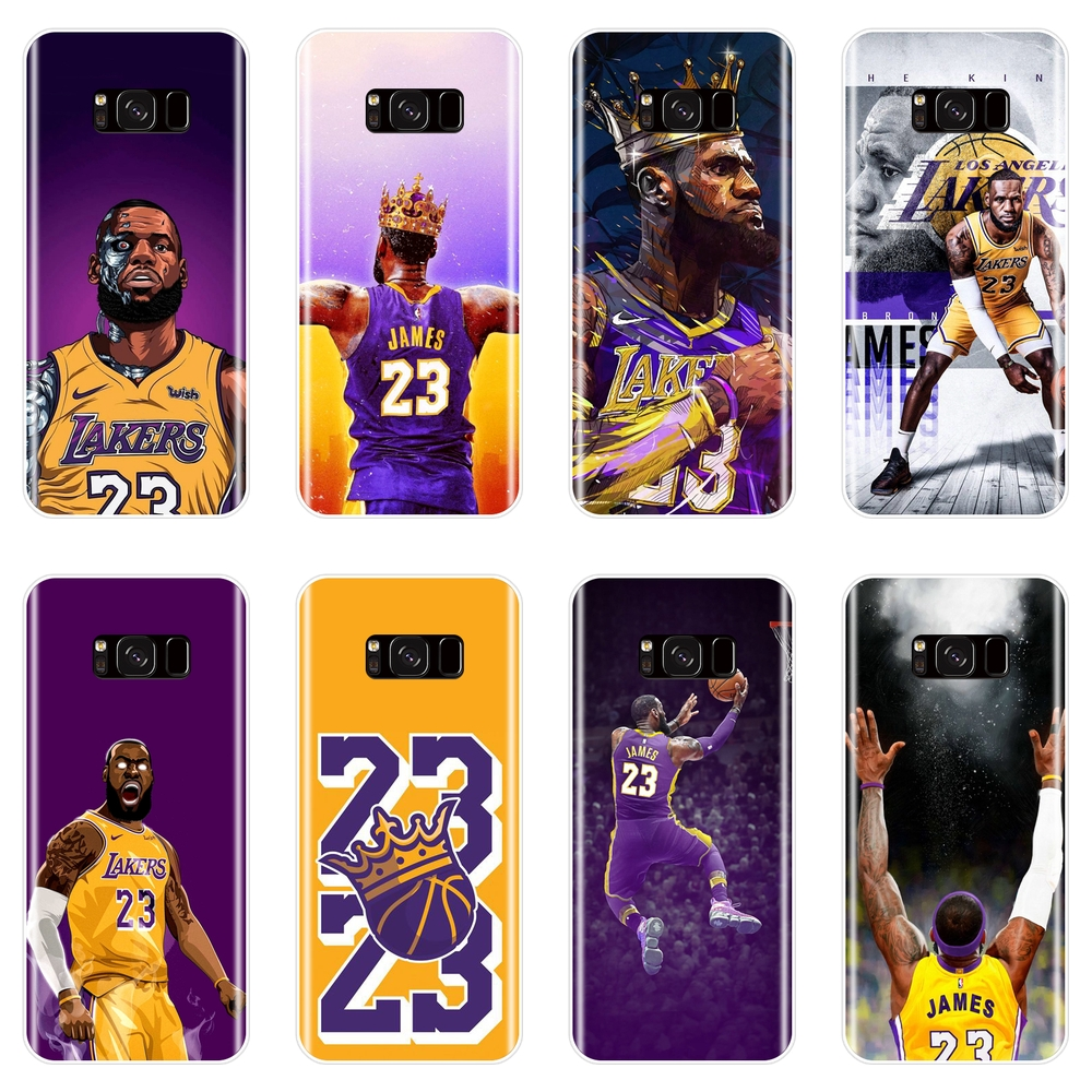 4bd93761991 Basketball Lebron James Phone Case For Samsung Galaxy S8 S9 Plus S5 S6 S7  Edge