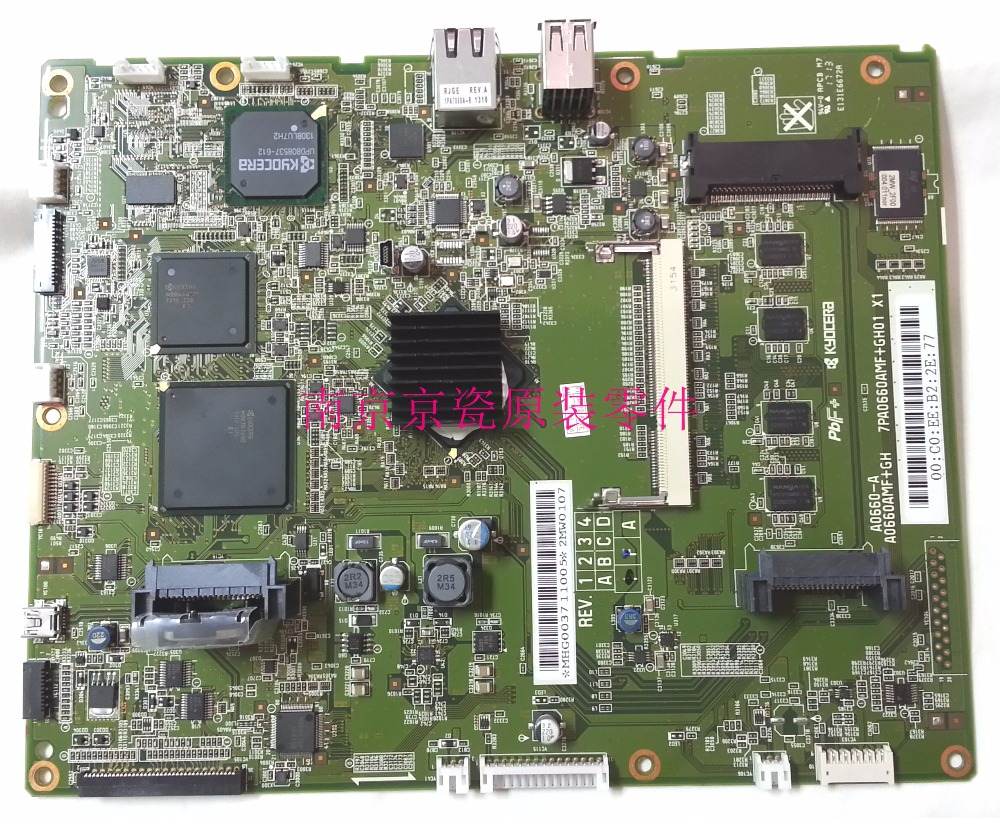 Фото New Original Kyocera 302MW94050 PWB MAIN ASSY for:FS-6525 6530