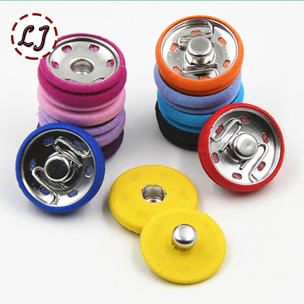 Hot Sale High Quality 10set/lot Big Metal Copper Snap Fasteners Press Cloth Button For Overcoat Windcoat Garment Accessories DIY