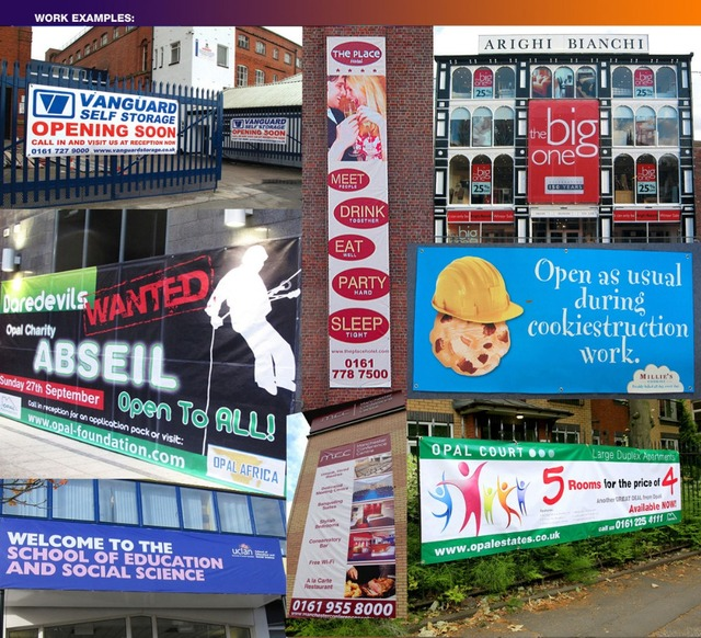 PVC VINYL BANNERS PRINTED OUTDOOR ADVERTISING SIGN DISPLAYin - Vinyl banners and signsexhibitiondisplay signs pvc banners roller banners flag