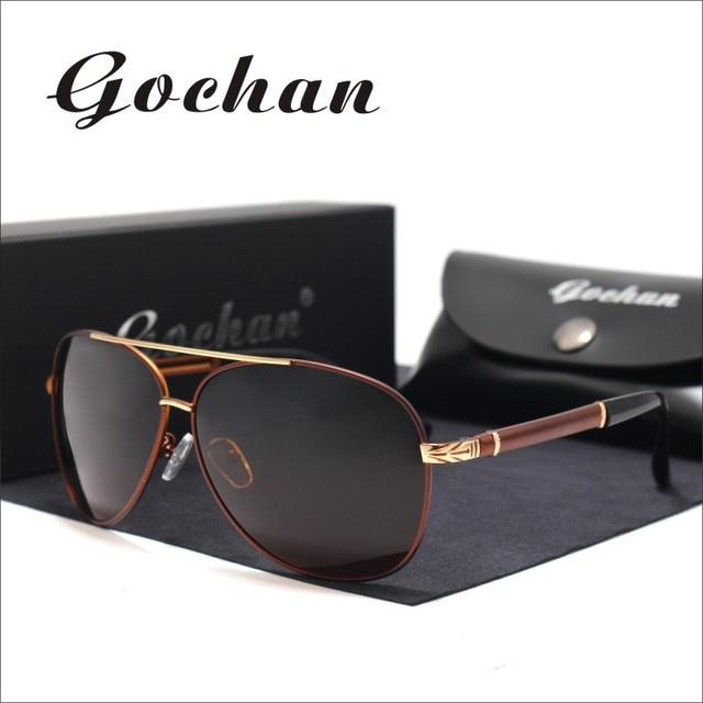 e13cf6f5cb 2017Gochan brand new products men polarized sunglasses fashion business  classic men and women luxury brand designer sunglasses f