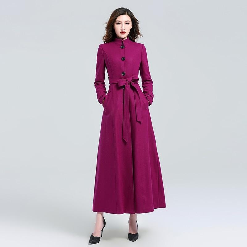 Popular Purple Winter Coat-Buy Cheap Purple Winter Coat lots from ...