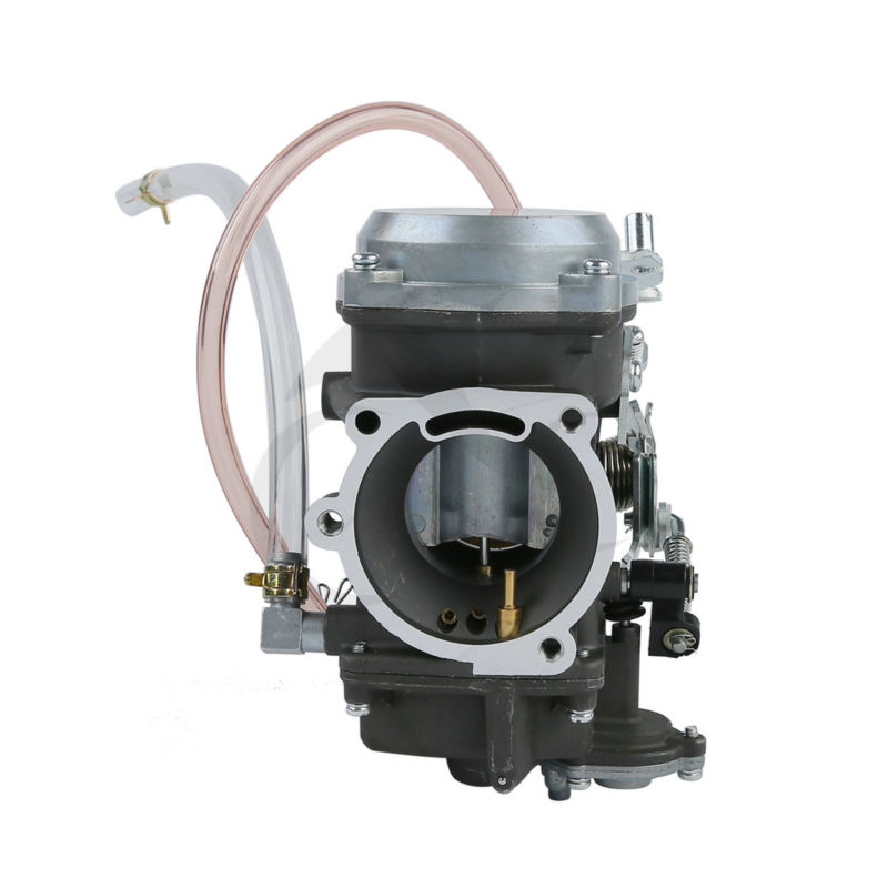 Aluminum Rubber Twin Cam Carburetor Carb For Harley Replacement #27421-99A Dyna Wide Glide Softail Springer FXD Low Fatboy FLSTF