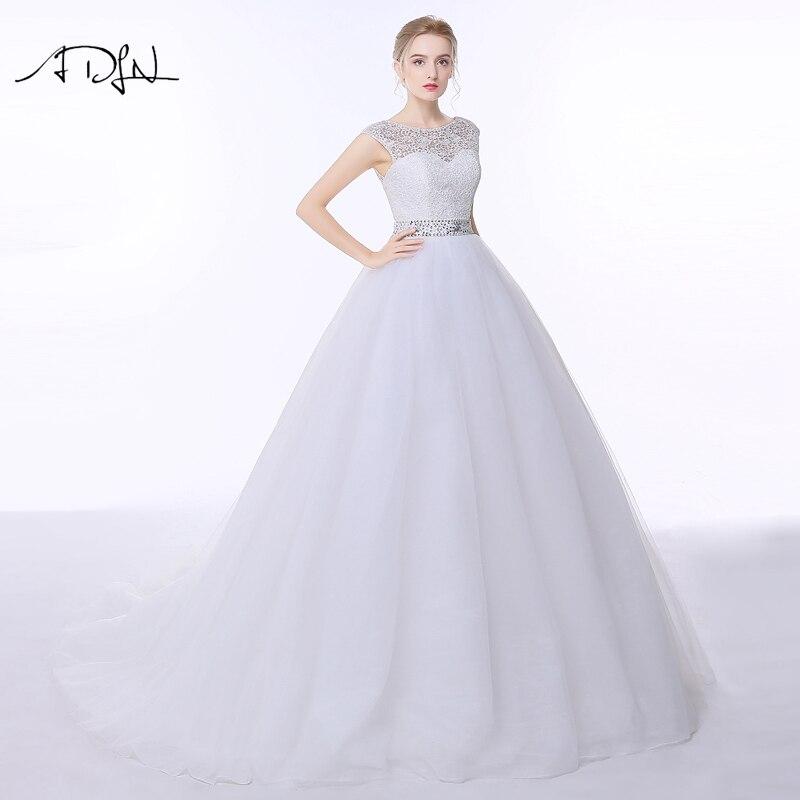 רוסית לבן/שנהב שמלות ADLN