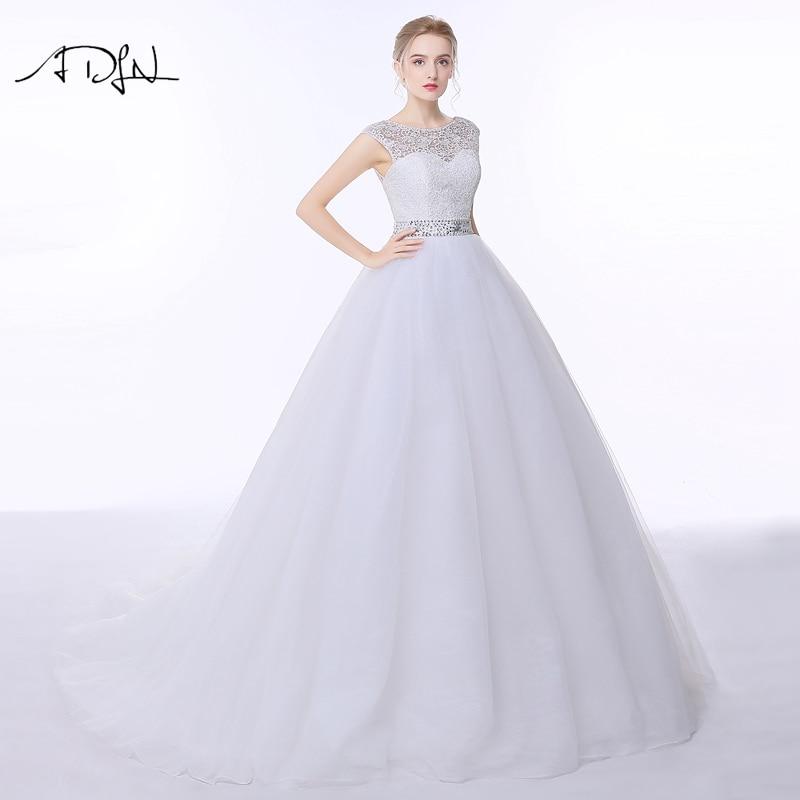 Vestido de Novia de Encaje Elegante ADLN Vestido de Noiva A-line - Vestidos de novia - foto 4