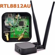 802.11ac двухдиапазонный 1200 Мбит/с RTL8812AU сетевой беспроводной WLAN USB WiFi адаптер + 6dBi WiFi антенна для Kali Linux/Windows 7/8/10