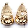 Прекрасный Ребенок Малышей Девочка Мягкой Подошвой Цветок Prewalker Детская Кровать В Обуви
