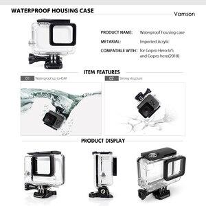 Image 2 - Vamson for Gopro Hero 7 6 5 Accessories Kit Waterproof Housing Case Frame Floaty Bobber Monopod for Go pro Hero 6 5 Camera VS142