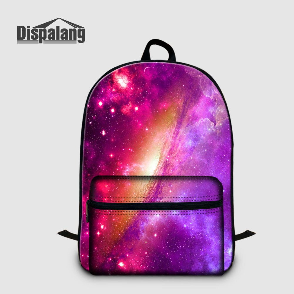 Dispalang Women Backpacks Universe Galaxy Star Print Kids School Bags For Teenager Girls Travel Laptop Backpack Mens Bagpack forudesigns children backpack anime funny printing backpacks for teenager girls boys travel laptop bags school bagpack mochila