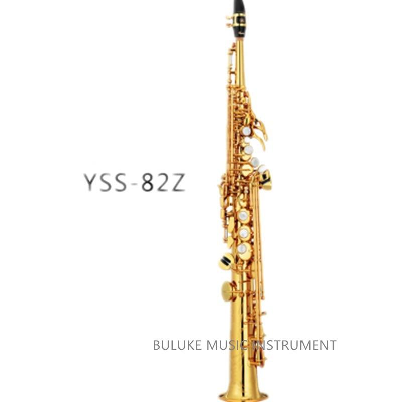 Yss-82Z b high-quality 82Z Soprano Sax Gold Lacquer  gold negro Gorgeous Musical Instruments Free Shipping мото honda msx125 yss