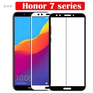 Защитное стекло, закаленное стекло для Huawei Honor 7c 7a Pro 7x7 s 7apro 7cpro 7 X S A C X7 S7 A7 C7