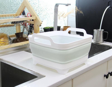 Foldable Washbasin Retractable Household Kitchen Fruit Vegetable Portable Thickened Travel Outdoor Car Laundry Washing Basin New