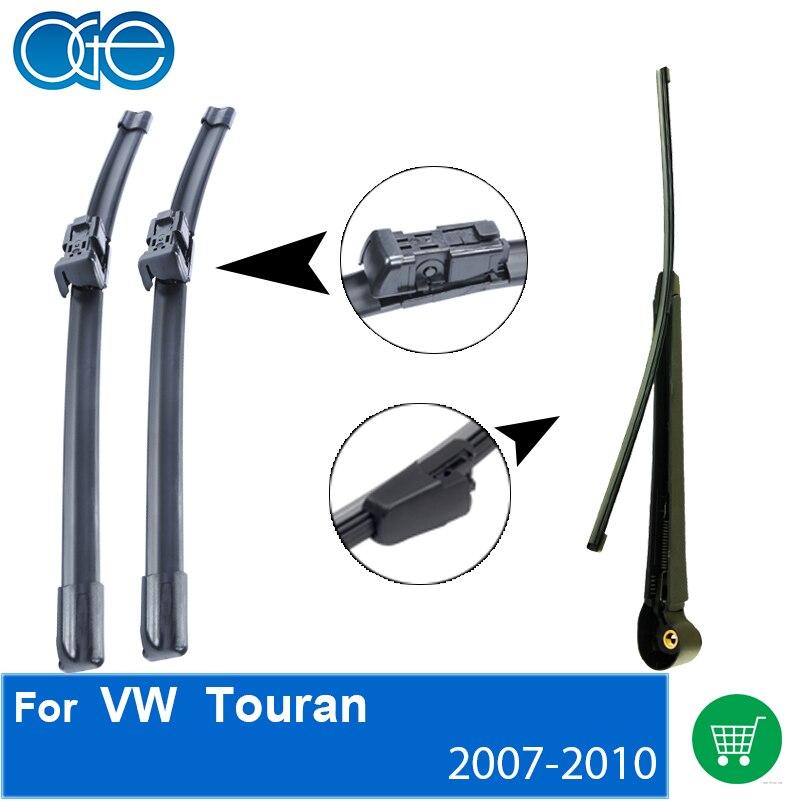 Prix pour Lames d'essuie-glace Pour VW Touran 2007 2008 2009 2010, Pare-Brise De Voiture Accessoires