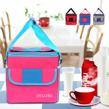 купить Portable Picnic Pack Thermal Lunch Bags Food Cooler backpack Insulated Tote Bag Storage Work meal Container borsa frigo A020 по цене 997.86 рублей