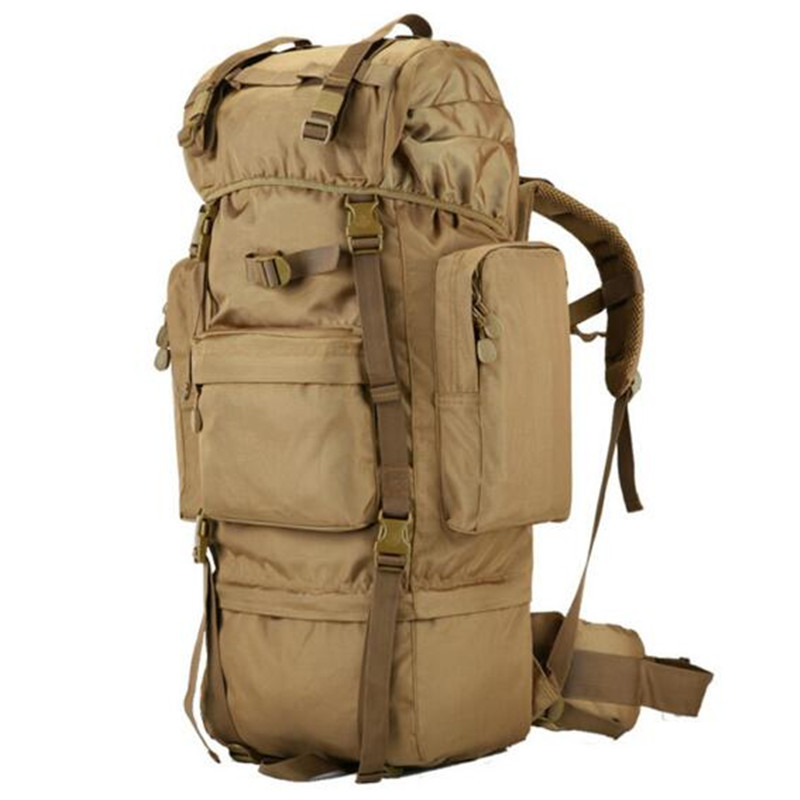 new military backpack waterproof 1680 D Oxford bags travel 70 l backpack high grade 17-inch flat-panel laptop best backpack