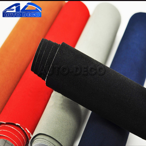 Image 5 - Velvet Fabric Car Wrapping Vinyl Film Adhesive Suede Vinyl Wrap With Air Bubble Free Good Quality Fast Shipping Automotive Decal