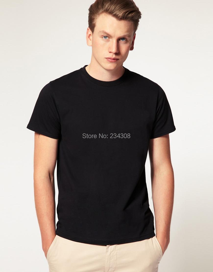 Plain black t shirt quality - Super Quality Plain T Shirts Black And White Fancy Kanye West Plain White Hiphop T