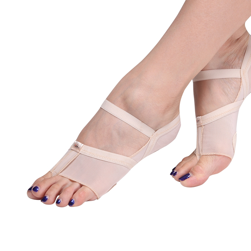 New 2018 Heel Protector Professional Ballet Dance Socks 1 Pair Belly Dancing Foot Thong Dance Accessories Toe Pads