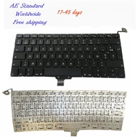 FR Laptop Keyboard For Apple For Macbook Pro A1278 MD313 MD101 MC700 MD314 Black New French