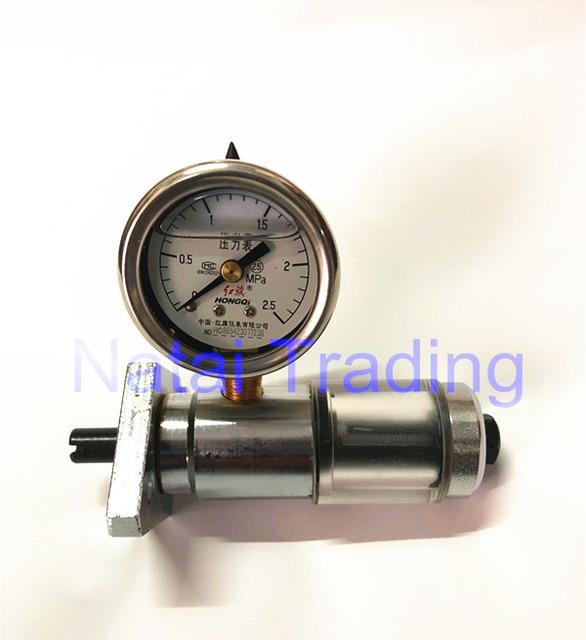 Pistão de medição de pressão, ferramenta de reparo de medição de pressão interna de 2.5mpa, bomba de combustível