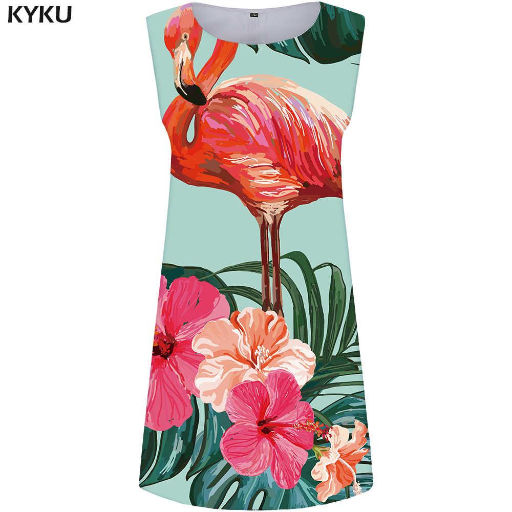 KYKU лимонное платье Женский фруктовый сарафан лист Бохо Белый пляж 3d принт короткая женская одежда s Лето Готический Большие размеры