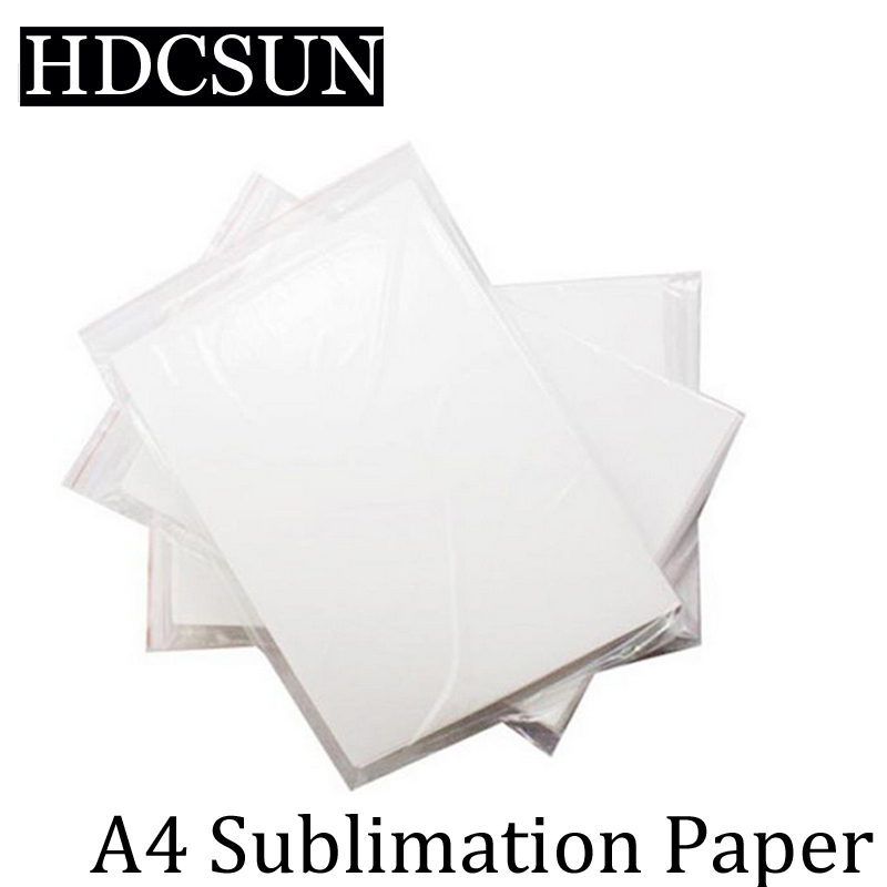 100 Sheets A4 Sublimation Paper For 3D Sublimation machine Ink Printer High Transfer Rate Mug,Glass Rock For Heat Press Machine фен rowenta cv 4741 d0
