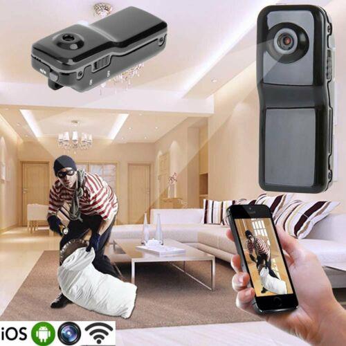 8G Card+MD81 Mini WIFI/IP Wireless Remotes Surveillances DV Security Micro Camera