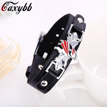 Bleach Black Bracelets Fashion Punk Bangles