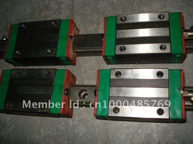 100% genuine HIWIN linear guide HGR45-2600MM block for Taiwan hiwin 100