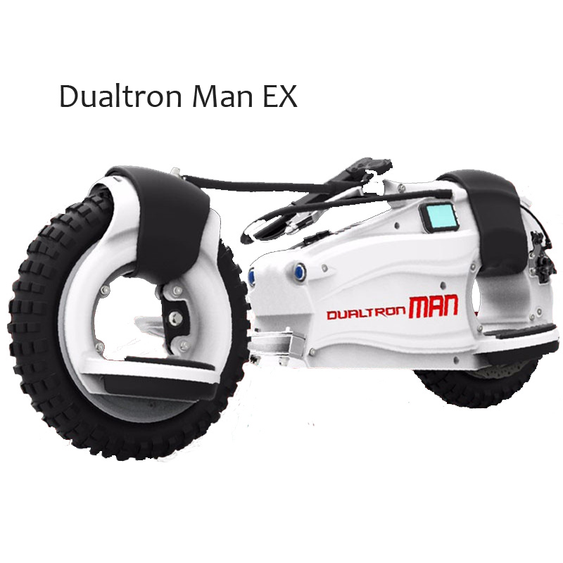 Dualtron Man Ex Electric Scooter With Max 2700w Extreme