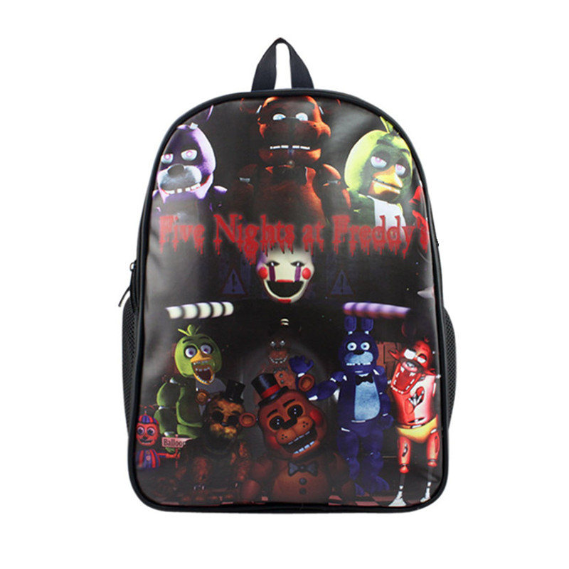Five Nights at Freddy's Backpack For Teenage Girls Boys Children School Bags Travel Bag Casual Backpacks