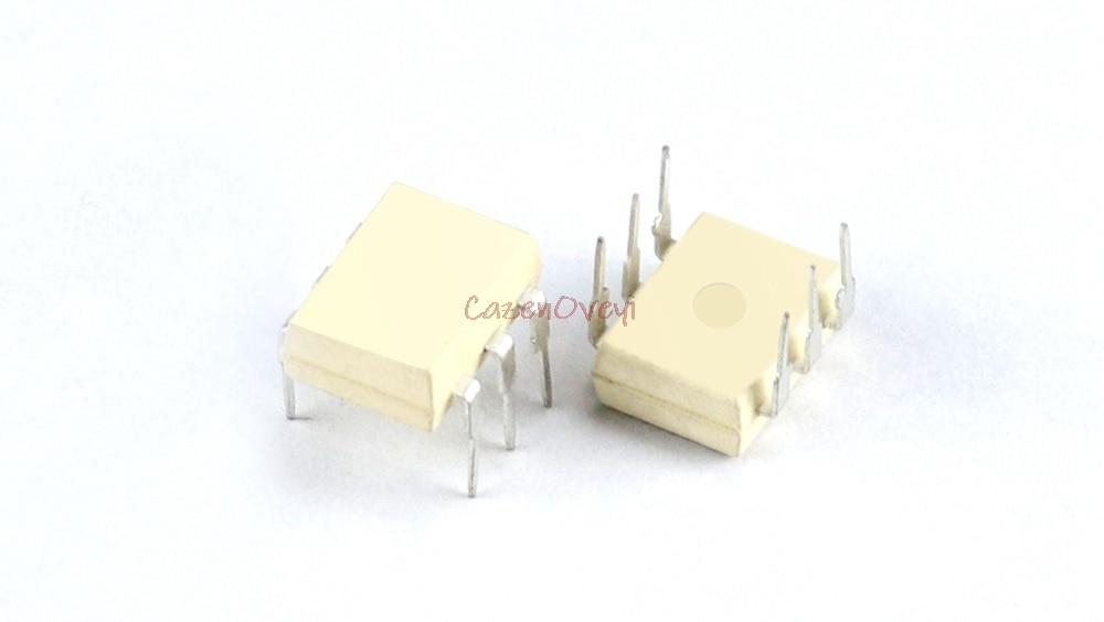 10pcs/lot MOC3021 EL3021 K3021P 3021 DIP-6 In Stock