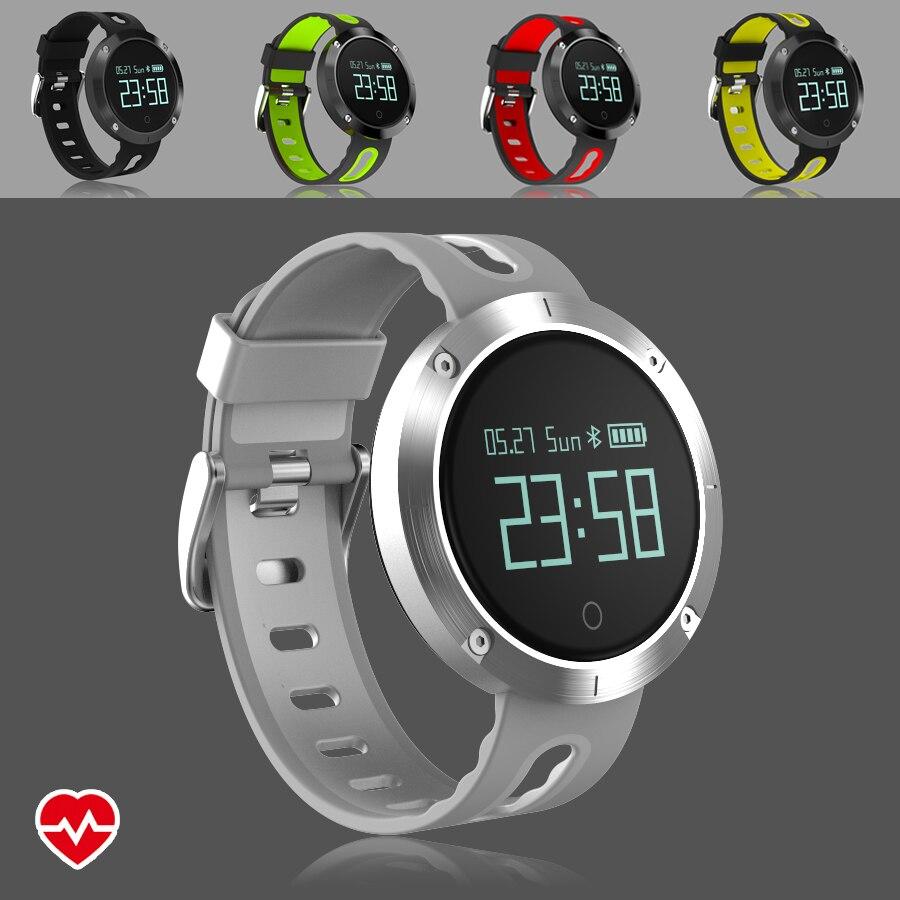 Athletic Round Waterproof Fitness Bracelet Tracker Heart Rate Blood Pressure Monitor Smart Band Wristband Pedometer PK