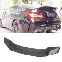 CLA Class Carbon Fiber Rear Trunk Wings Spoiler for Mercedes CLA45 W117 C117 CLA 200 250 260 Sedan 2013 2018 R Style