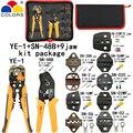 Набор плоскогубцев для зачистки проводов Y1 набор инструментов SN-48B плоскогубцы 0 5-мм2 9 челюстей для штепсельной вилки/трубки/изоляционного ...