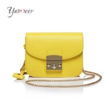 Mini Fashion Chain Messenger Bag Ladies PU Leather Lady Shoulder Bags Handbags Female Famous Brand Crossbody