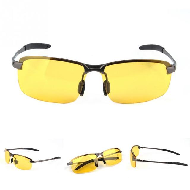 2a18d41513 Women And Men s UV Anti-glare Goggles Driving Eyewear Outdoor Night Vision  Mirror Sunglasses Fast