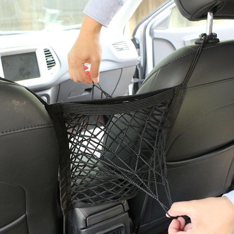 Foal Burning Car Seat Storage Net Pocket Bag for Toyota RAV4 Matrix SIENNA VENZA Camry CELICA Corolla Prado C-HR CHR Accessories