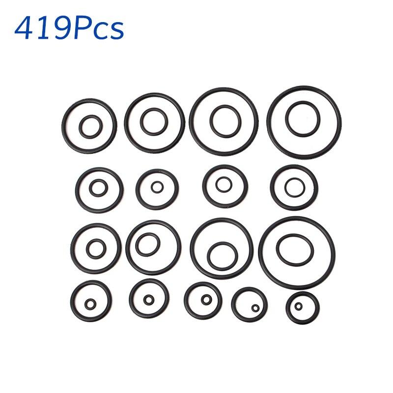 419 Pcs Rubber O Ring Seals Tap Washers Gasket Assortment Plumbing ...