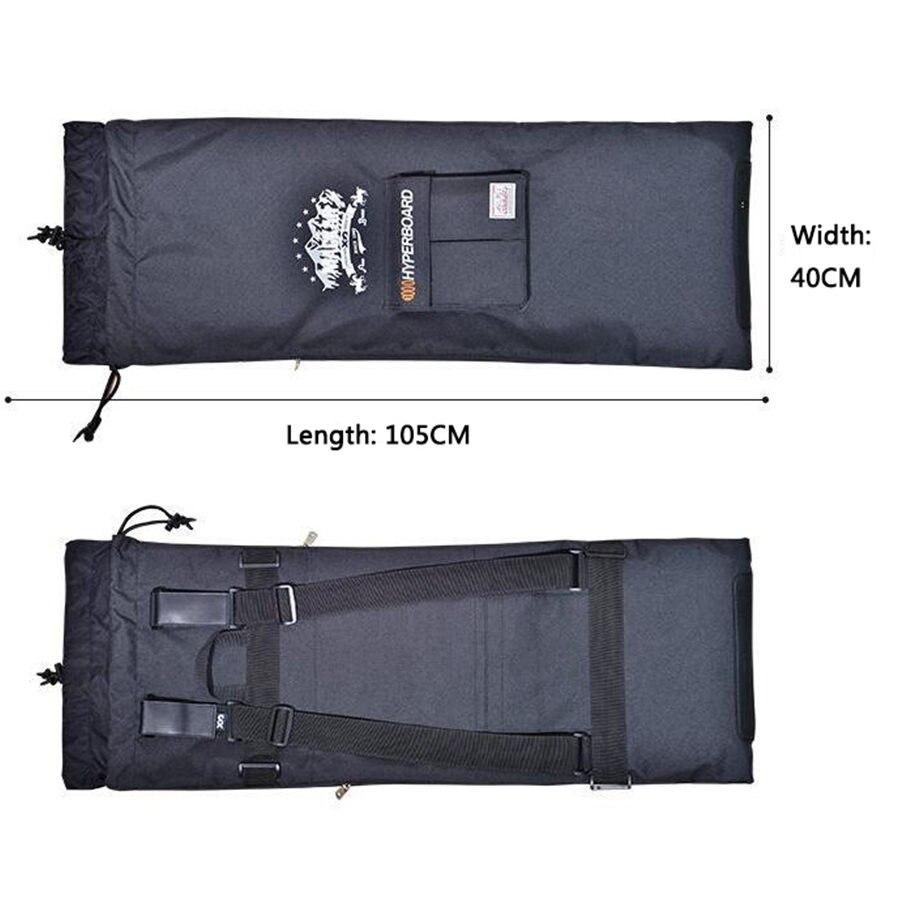 Sac de planche à roulettes électrique professionnel 105x40 cm sac à dos de planche à roulettes Double culbuteur sac à cordon multifonctionnel - 5