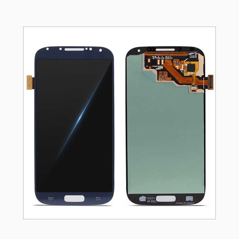 الأصلي شاشات Lcd لسامسونج غالاكسي S4 i9500 GT-i9505 i9505 i9506 i9515 i337 شاشة إل سي دي باللمس Sreen قطع غيار محول رقمي