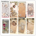 phone case Bling Diamond for Samsung Galaxy A3 A5 A7 J3 J5 J7 C9 C10 Pro 2017 2016 Phone Clear Crystal Cover Crown Flower decora