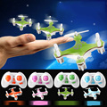 CX10 Mini Bolso Rc Zangão 2.4G 4CH 6 Axis Gyro Controle Remoto Quadcopter RTF Led Bolso Mini Helicóptero VS H8MINI H20 FQ777