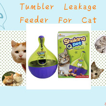 Cat Toys Cat tumbler Leakage Feeder Funny Pet Toy Anti-depression Pet IQ Training For Cats Also For Dogs Dog Toy