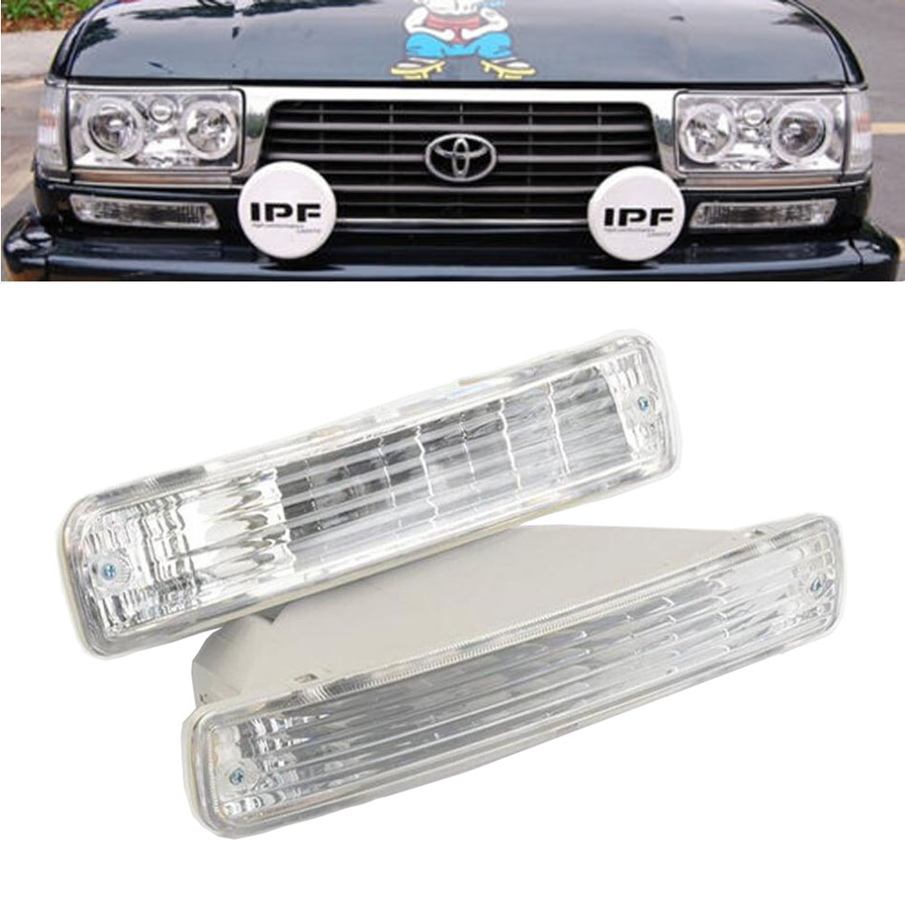 Car Front Bumper Turn Signal Light 81521-60251 For TOYOTA LAND CRUISER 80 Series 1991 1992-1998 LC80 FJ80 FZJ80 HDJ80 HZJ80 4500